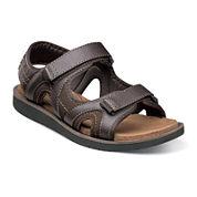 Nunn Bush® Bluffside Mens Strap Sandals