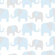 Elephant Parade Peel-and-Stick Wallpaper