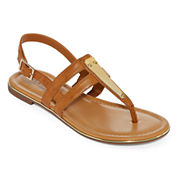 a.n.a Sweeny Womens Flat Sandals