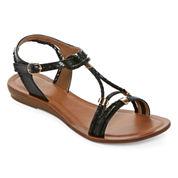 GC Shoes Riley Womens Flat Sandals