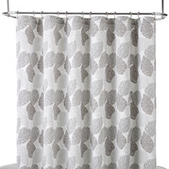 Liz Claiborne® Speckle Leaf Shower Curtain