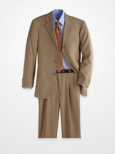 Magic Johnson Light Brown Suit