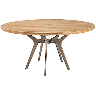 mcguire furniture farallon outdoor teak dining table no 350