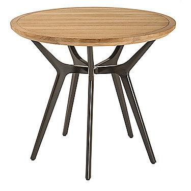 Mcguire furniture farallon outdoor teak side table no 377 for Teak side table outdoor