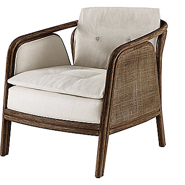Mcguire Furniture Barbara Barry Ojai Lounge Chair No A 121