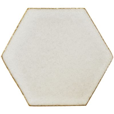 "4"" x 4"" hexagon field in new spiced ginger"