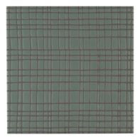 "Maven Vortex 8"" x 8"" field tile in Olive with black dry line"