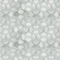 fish scale mosaic  in rain cloud