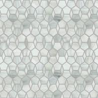 hex diamond mosaic in rain cloud