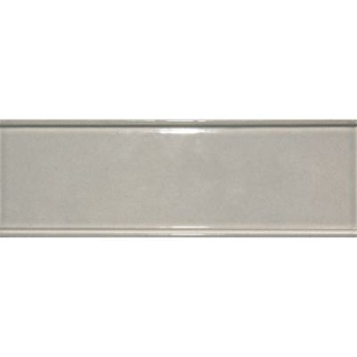 "2"" x 6"" raised edge border in pewter gloss"