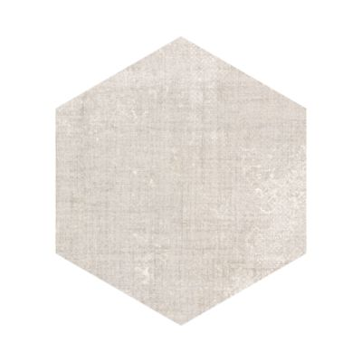 solid hexagon in ivory