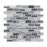 """1"""" x 2"""" offset mosaic in honed"""