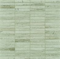 """9/16"""" stacked mosaic in honed finish"""