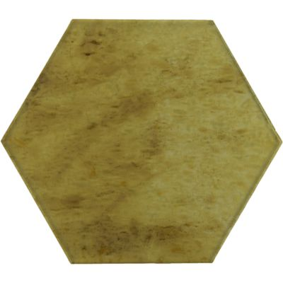 "12"" x 12"" hex field in golden maple"