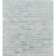 "1/2"" x 1"" mini brick mosaic in honed finish"
