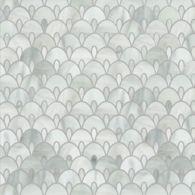 art deco mosaic in rain cloud