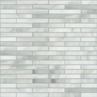 large reed mosaic in rain cloud, transparent smoke and silver iridized