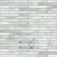 large reed mosaic in rain cloud
