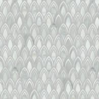 plume mosaic in pearl irid, light beige and honey