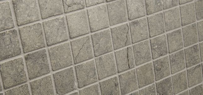 "7/8"" x 7/8"" straight mosaic in honed finish"