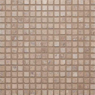 """5/8"""" stacked mosaic in honed-filled finish"""