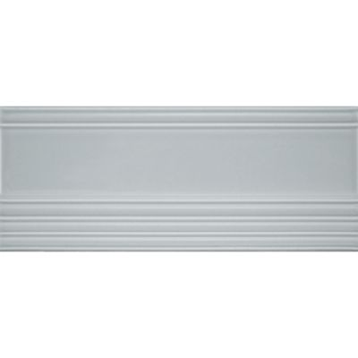 "2-1/2"" x 6"" base trim in pewter gloss"