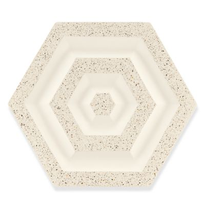 "12-3/16"" x 15-1/16"" gemstone field in creme"