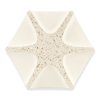 "7-13/16"" x 9-1/16"" spoke field in creme"