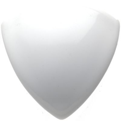 "1"" x 1"" beak corner trim in white gloss"