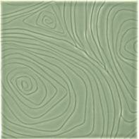 """4"""" x 4"""" woodcut field in envy"""