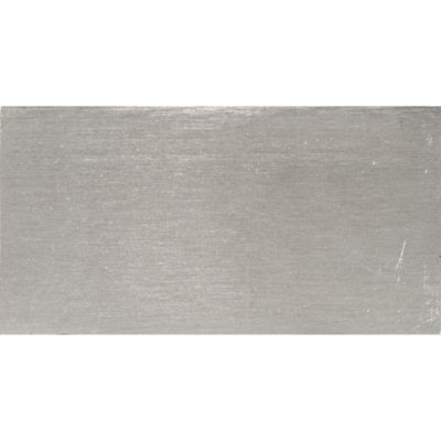 "2"" x 4"" field in brushed aluminum"