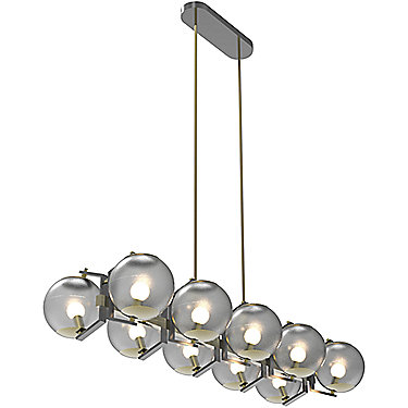 Jonathan Browning Limantour Linear Chandelier
