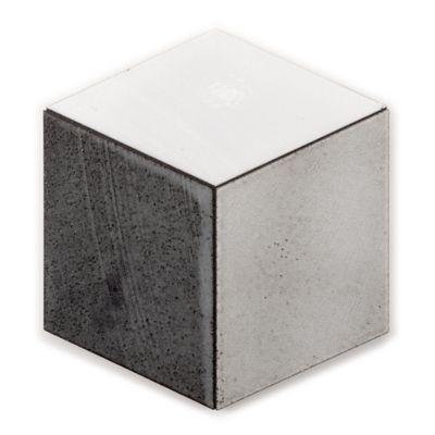 cube mosaic in rustic greige blend