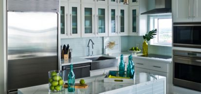 """2"""" x 12"""" field in oxygen gloss (photographer: Eric Perry, as shown in: HGTV Urban Oasis)"""