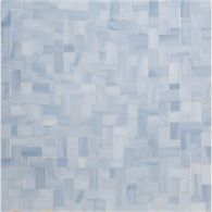 byzantine mosaic in sky blue