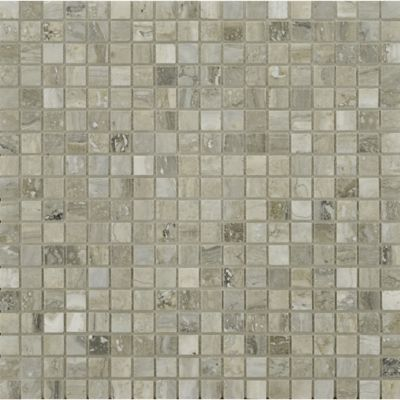 """9/16"""" stacked mosaic in honed-filled finish"""