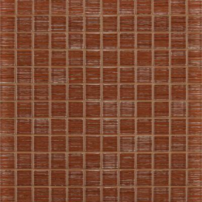 """1"""" x 1"""" stacked mosaic in jambalaya"""
