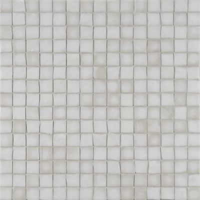 "3/4"" stacked mosaic in whitecap irid"