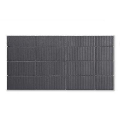 """Rake 2"""" x 4"""" tiles in Steelyard on a 7"""" x 14"""" board"""