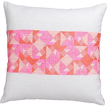 San Marino Tweed/<wbr/>Aztec 18&quot; x 18&quot; Pillow