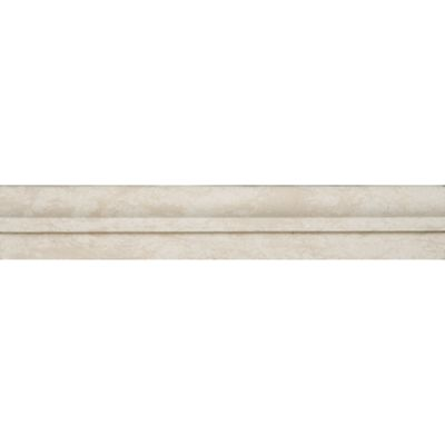 "2"" x 12"" chair rail molding in honed finish"