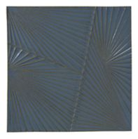 "Tableau by Kelly Wearstler 9"" x 9"" Horizon 2 field tile in New Lagoon"