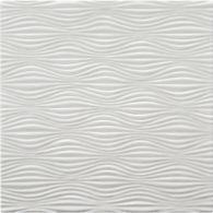 """6"""" x 6"""" illusion field in bright white matte"""