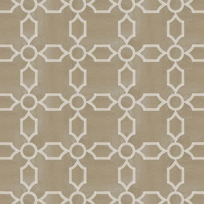 "Union Alexandria 48"" x 48"" pattern repeat in Parquet Naturale and Xylem Beach"