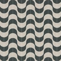 "Union Brasilia 48"" x 48"" pattern repeat in Xylem Ebony and Xylem Beach"