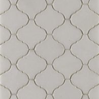 "2"" arabesque mosaic in honed finish"