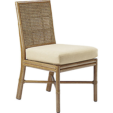 Square Back Caned Side Chair