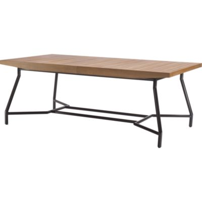 mcguire furniture: barbara barry outdoor communal dining table: no