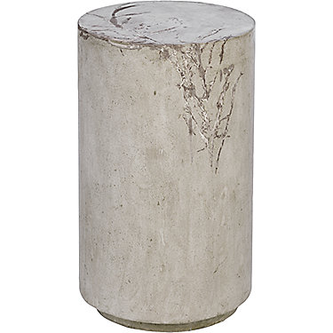 Tall Round Concrete Stool