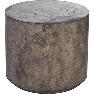 Low Round Concrete Stool